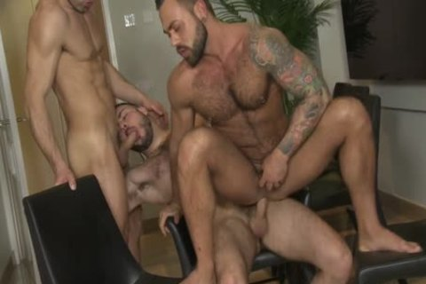 bare three-some: Castle, Rodriguez & Torres