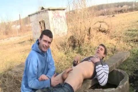 filthy Daddy Sex In Public With Facial
