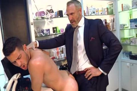 Muscle gay butthole invasion And ejaculation