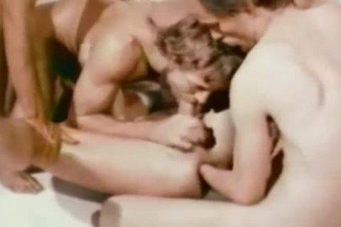 Rare Vintage homosexual servitude and painfully
