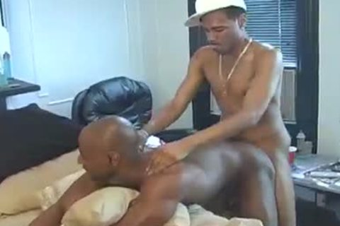 darksome males Rico And Kapone X acquire Down And messy With Eachother