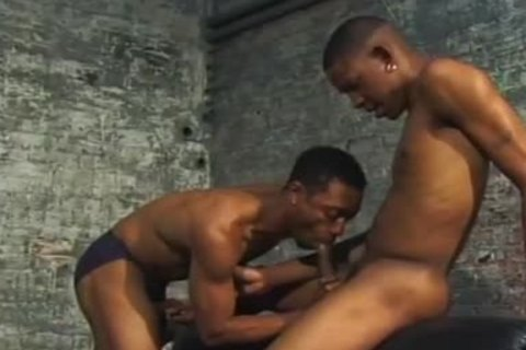 darksome homo couple pound Each Other In Dungeon