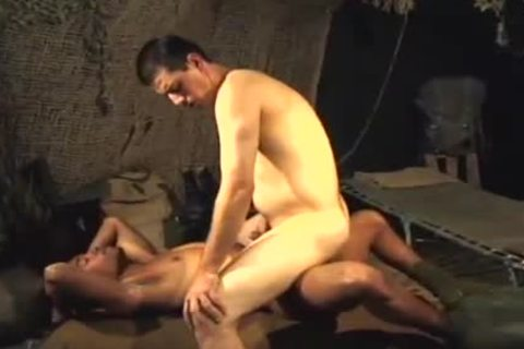 Ricco darksome Bored In The Army bonks Frank\'s taut arsehole