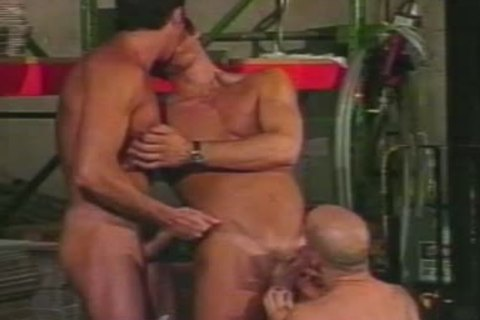 Warehouse Workers Have A bunch bunch-sex On Their Lunch Break.