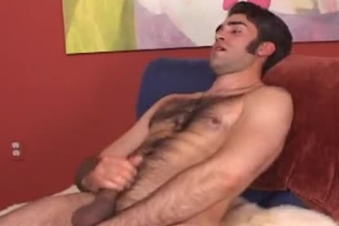 handsome str8 hirsute lad follows my instructions and shows his stu