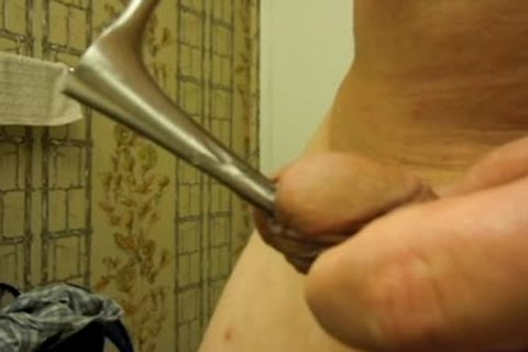 sounding my penis with a nasal speculum