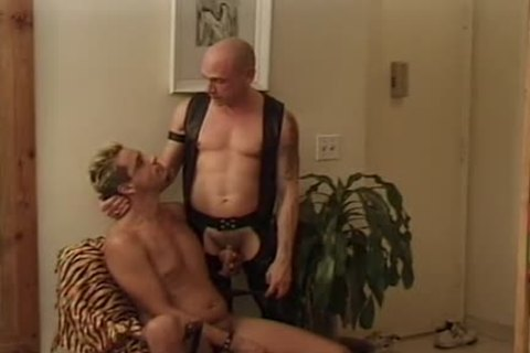Leather Wolf - Scene two - Macho chap video scene