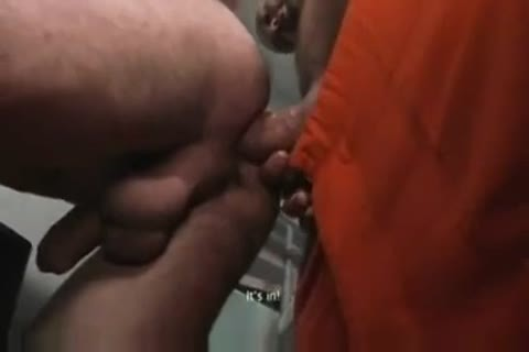 TWO tasty HUNG PRISONERS use juvenile LAD nude