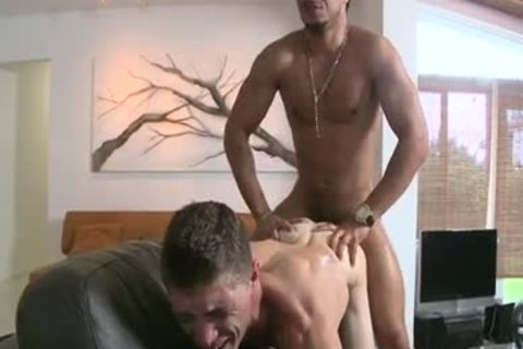 high quality large cock Interracial Part three/4