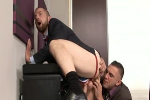 Homo office scene three