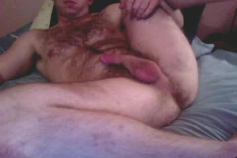 hairy straight lad On web camera Shows Feet, wazoo & Cums
