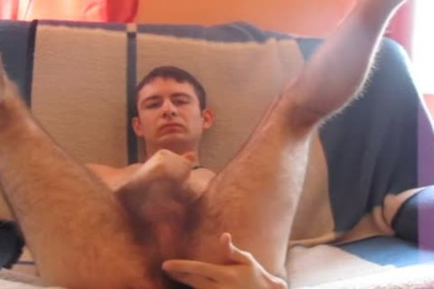 My bizarre bushy Arsenal Part3 - Wanking2
