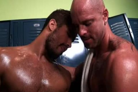 Locker Room Tryst Four Muscle boyz nail