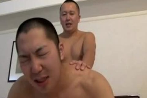 JAPAN homosexual bunch-sex asian lad