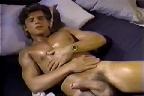 Jerking To A Jeff Stryker video scene Then engulfing Him For Real