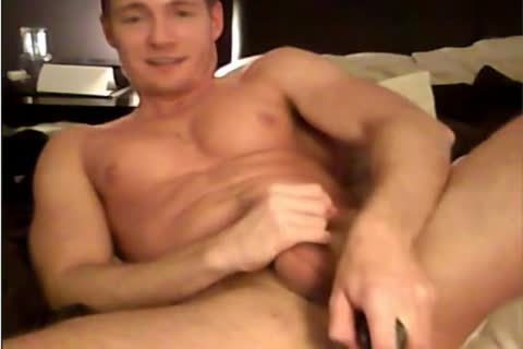 muscle lad anus play and sex cream
