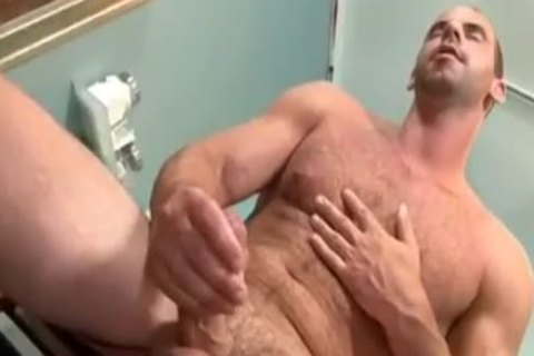 excited Doctor Teasing His Hard penis