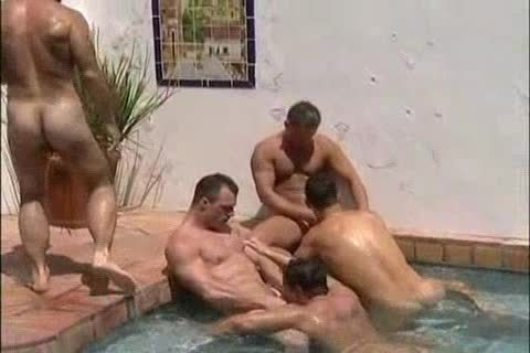 orgy In Swimming Pool