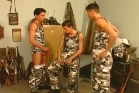 lustful twinks In Uniform nailing