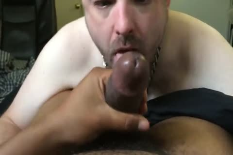 Pup Parker sucking & Throating taskmaster Mac's large darksome penis