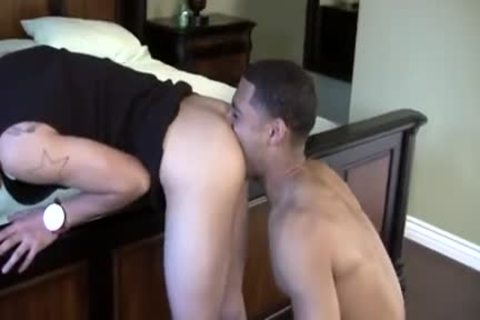 admirable-looking Latino lad team-banged