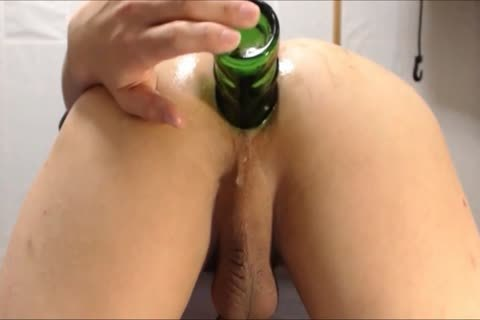 deep Bottle Play  doggy style
