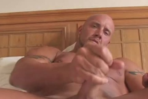 Bald Large wild worthwhile Bodybuilder