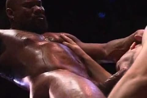 Remy Delaine hammered by Muscled-Up darksome guy