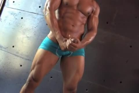 admirable-looking darksome Muscle lad