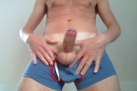 Showing A gigantic Bulge In My BIKKEMBERGS Pants, Squeezing Some Precum throughout The Fabric Of The Pants, Squeezing My teats, trickling And Eating plenty of Precum, Talking A Little dirty To u, Playing With My Foreskin, Squeezing My Balls And Edgin
