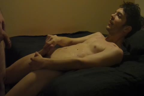 """Our First clip. I Rim My Partner, Then I group-sex Him nude With My 8""""uc penis, And End With Me Exploding All Over His Chest."""