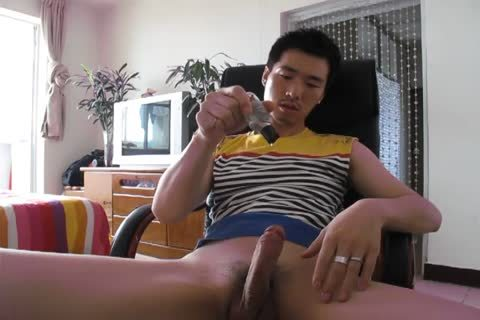My wicked asian ally Cums 4 Times Using Poppers And Porn