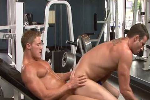 sexy penises slam In The Gym