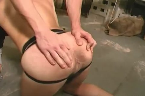 In Leather With excitement - Scene 1 - All Male Studio
