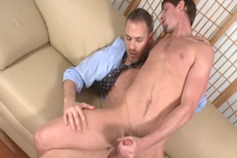 Tempting homo Gives oral-stimulation joy