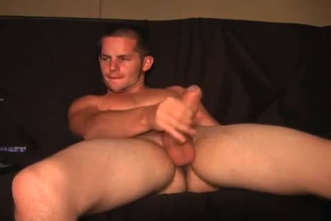 stroking dude acquires handjob