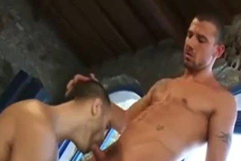 Great ass Show With Dildos Of Two moist Hunks