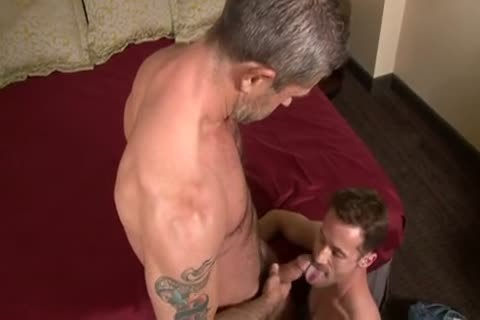 concupiscent  gang-sex  Daddy  Top  bonks  And  Dumps  His  Load  In  His  obscene  Bottoms  man-gap