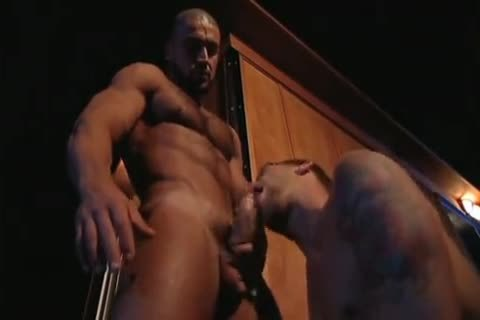 Outdoor bone: Francois Sagat & Braxton Bond - P.O.V.