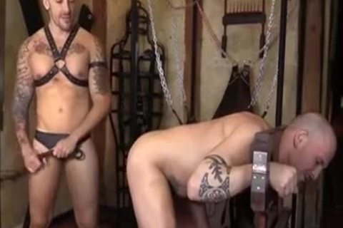 A Bit Of Domination With pumped up men