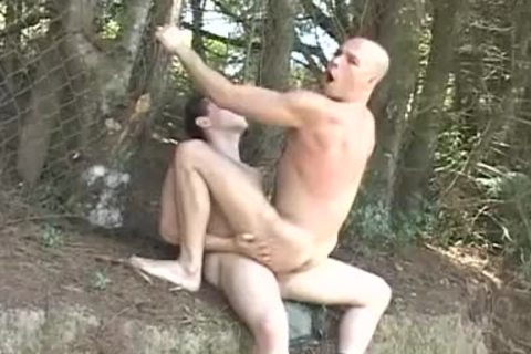 Army Hunk acquires His anal Destroyed Outside