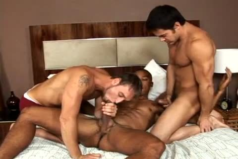 Chris, James & Tyler Threeway engulfing & nailing