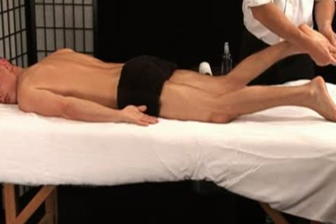 Tomek Sirnad Toyed During Massage