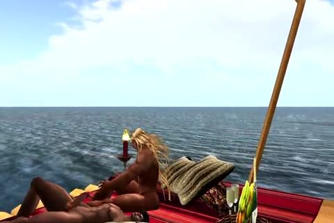 Coming Home Form A Fishing Trip And Find Your Partner Floating On A Raft Which Makes u gracious En The Rest Is As It Is.