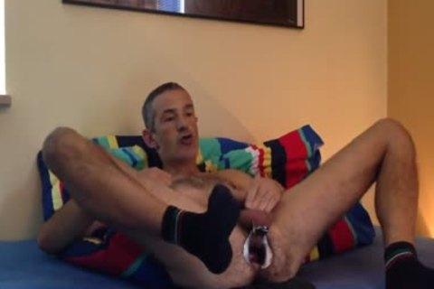 wazoo Play To Cam4 Show ..speculum Strech My messy cleft And Ride A gigantic fake cock popper