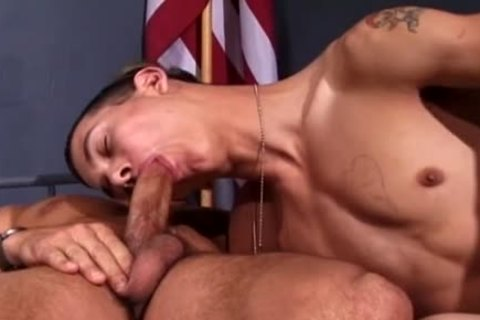 A lad In Uniform Just Wants To gangbang A wazoo!