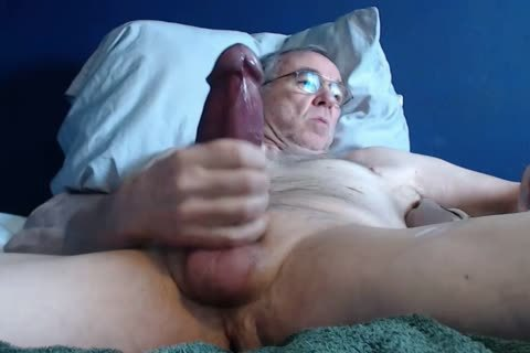 large knob grandad lengthy wank On web camera (no sperm)