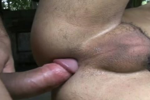 Two latina Cowboy twinks hammer Each Other