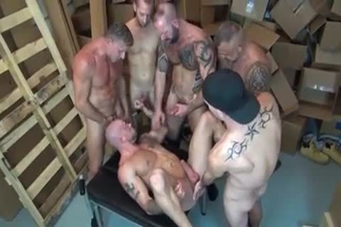Sean Duran GoGo gang-sex gay Sex