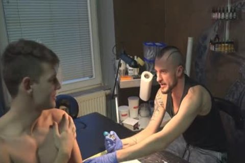 yummy Sex For specie In A Tattoo Studio